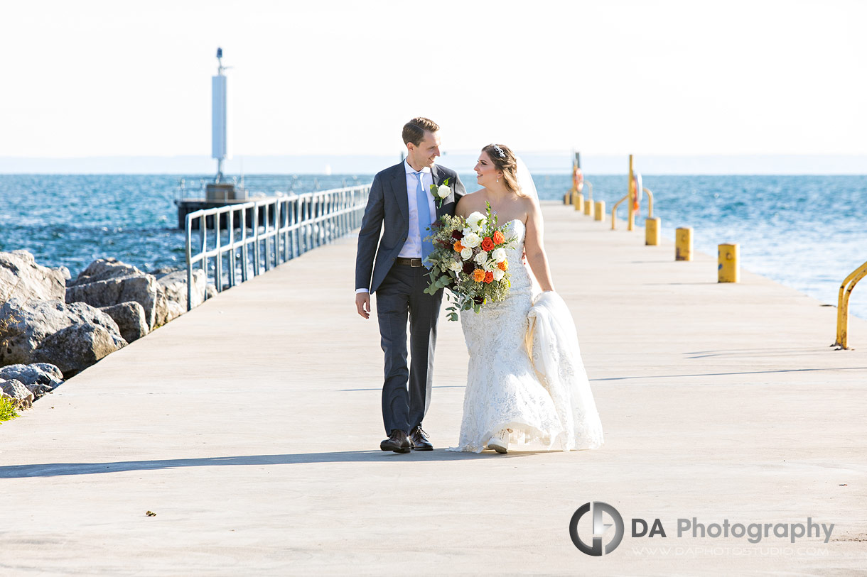 Oakville Harbour Outdoor Wedding