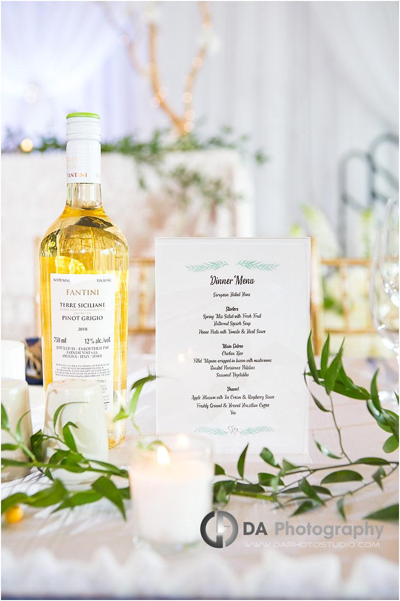 Reception at St. Joseph's Banquet Hall