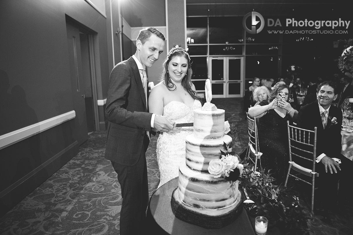 Receptions at St. Joseph's Banquet Hall wedding