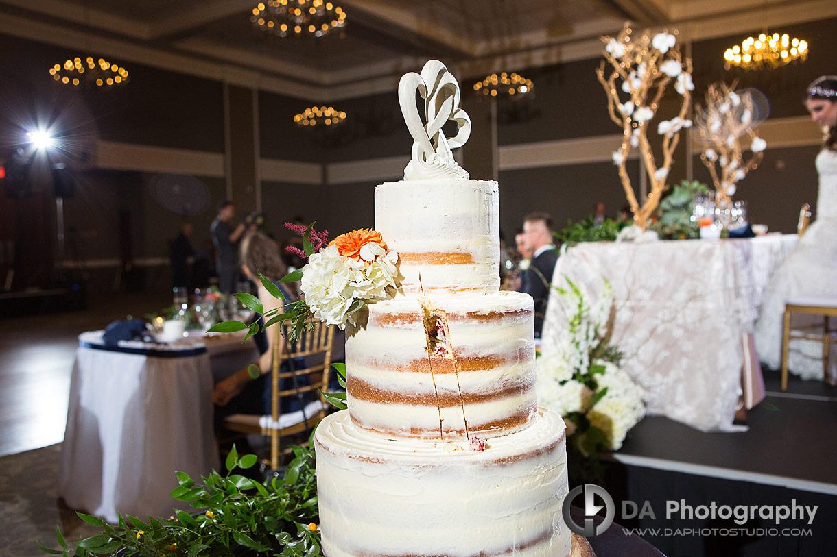 Reception at St. Joseph's Banquet Hall weddings