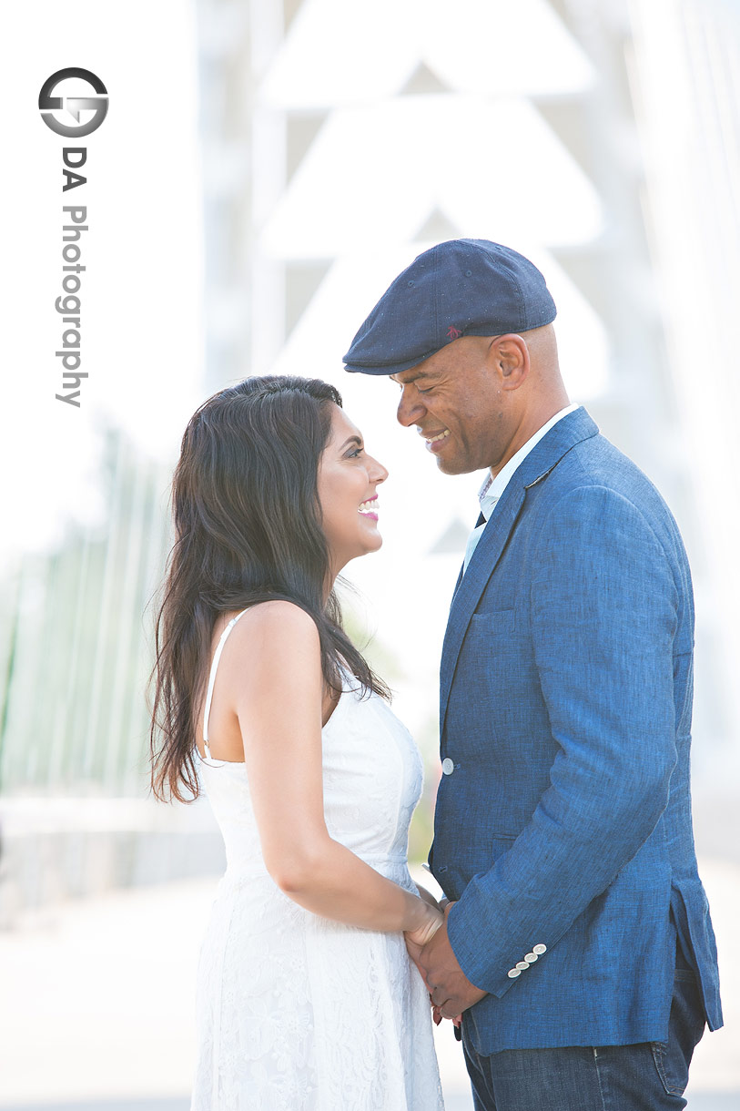 Arch Bridge Humber Bay Park Engagement