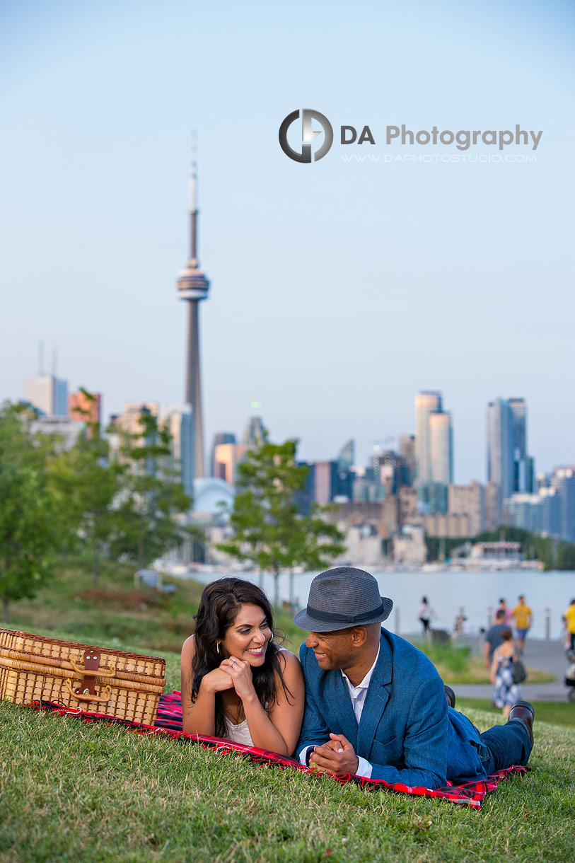 Engagements at Trillium Park in Toronto