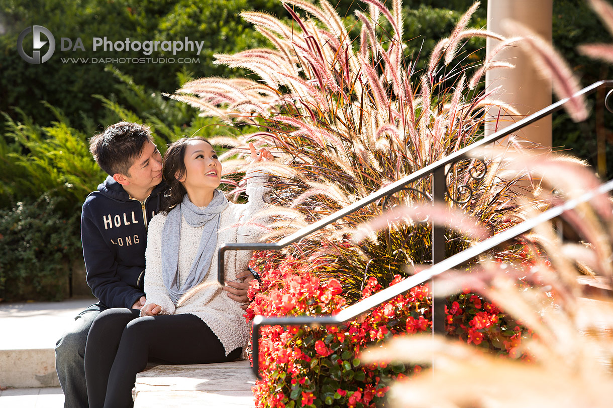 Paletta Mansion Fall Engagements in Burlington