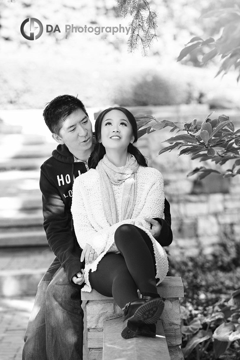 Engagement Pictures in Burlington
