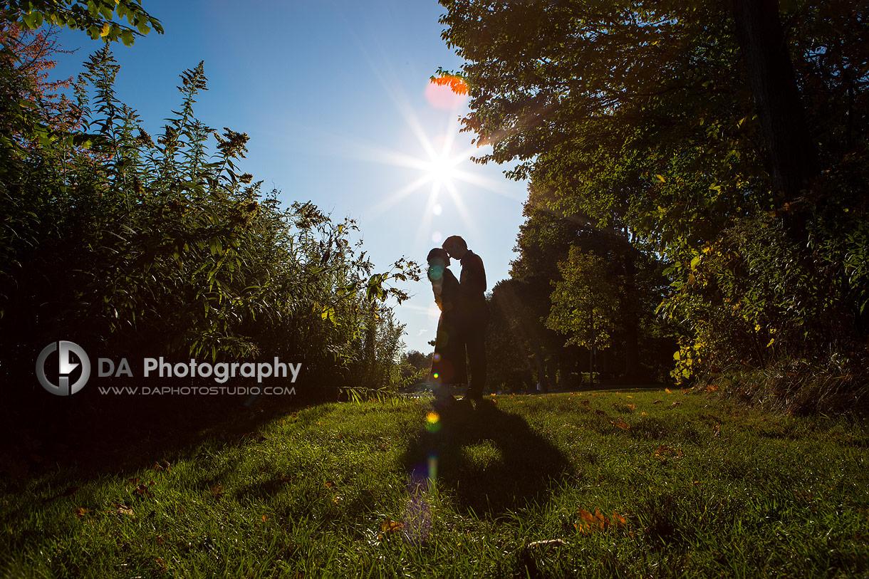 Paletta Mansion Garden Engagement