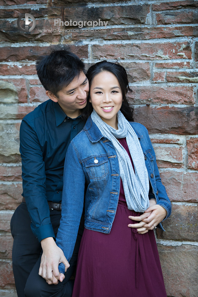 Engagement Photo at Paletta Mansion in Burlington