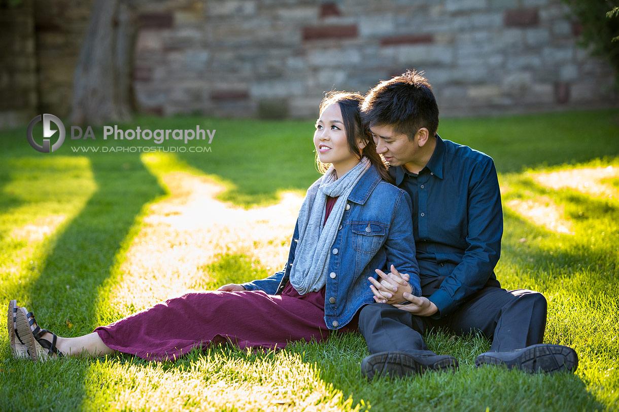 Engagement Photo in Burlington