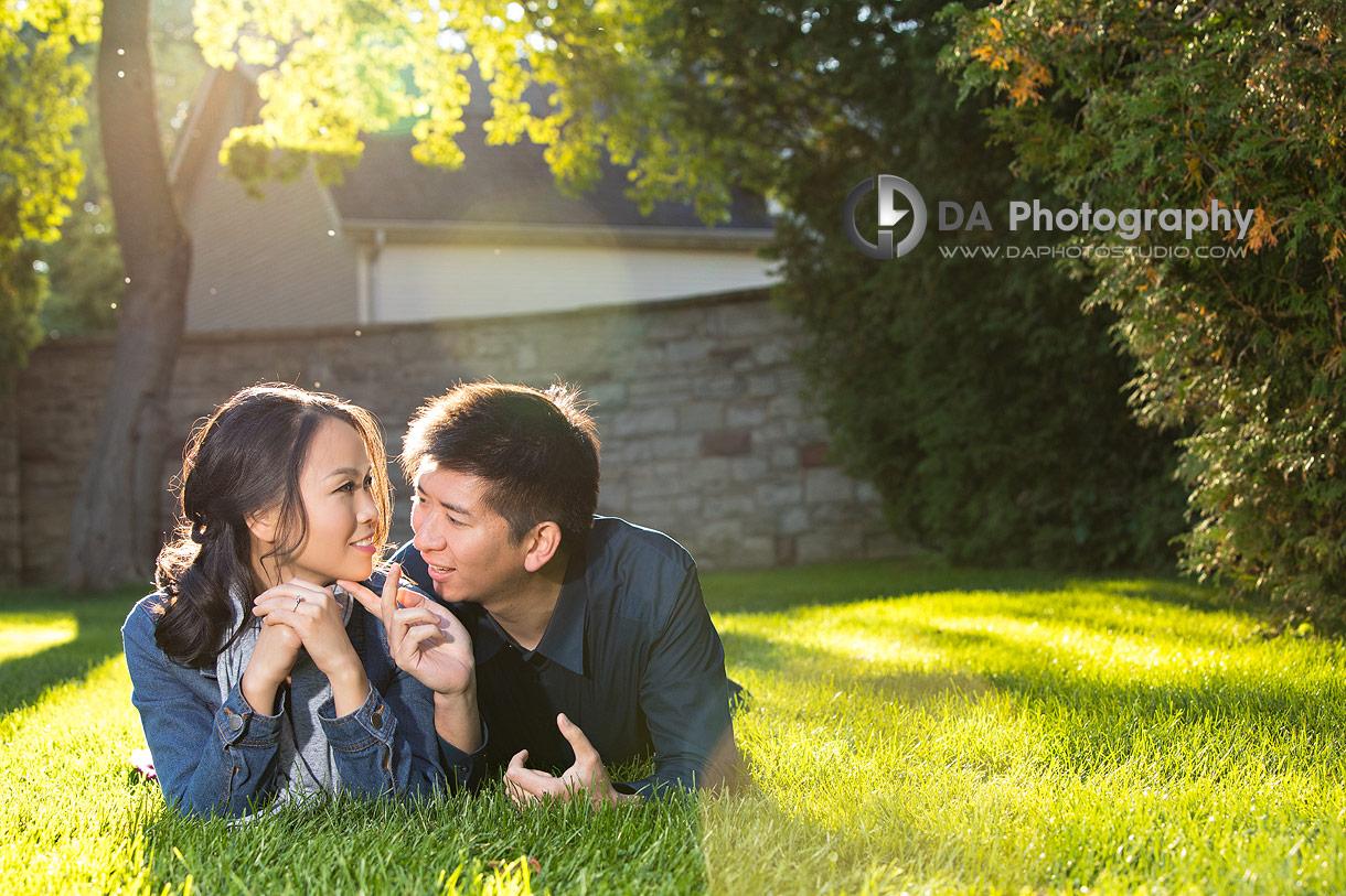 Burlington Engagement Photographs