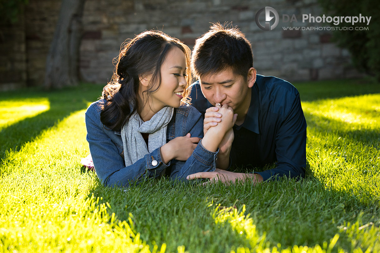Paletta Mansion Fall Engagement Photos