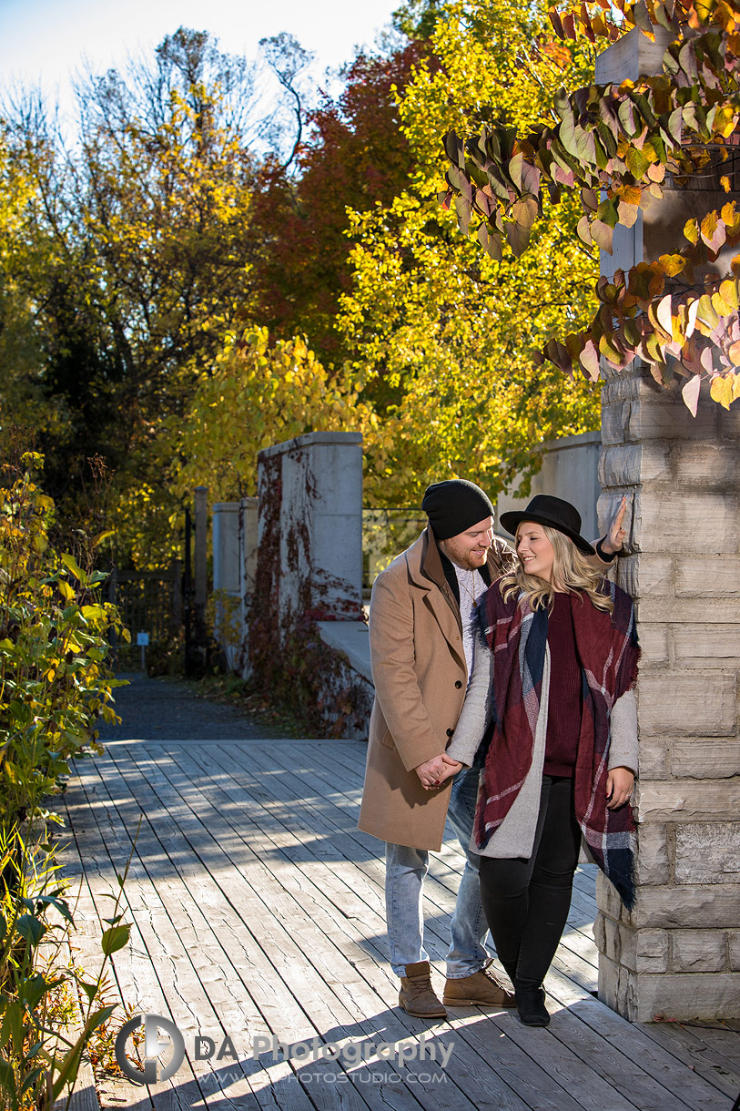 Engagement Photo at Riverwood Conservancy in Mississauga