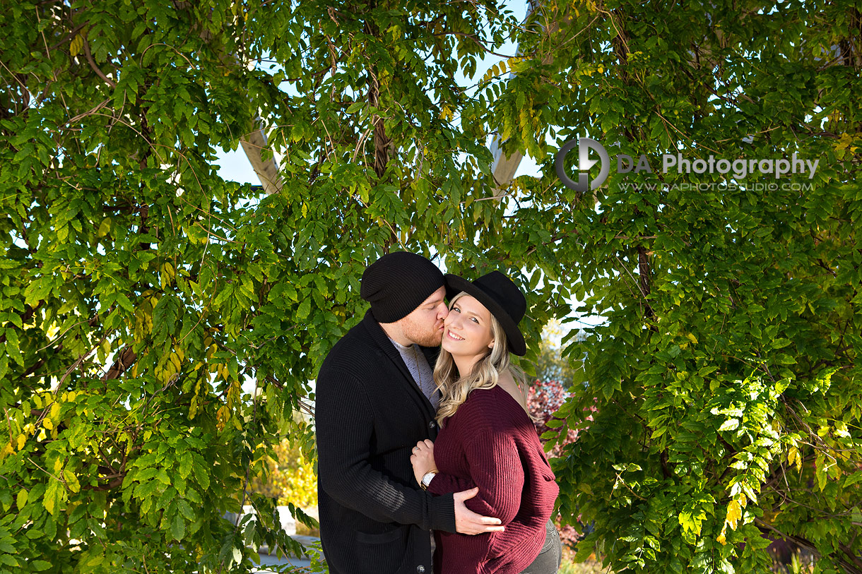 Engagement Pictures at Riverwood Conservancy in Mississauga