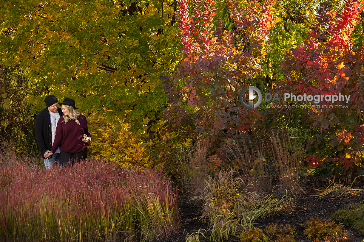 Fall Engagement Pictures in Mississauga