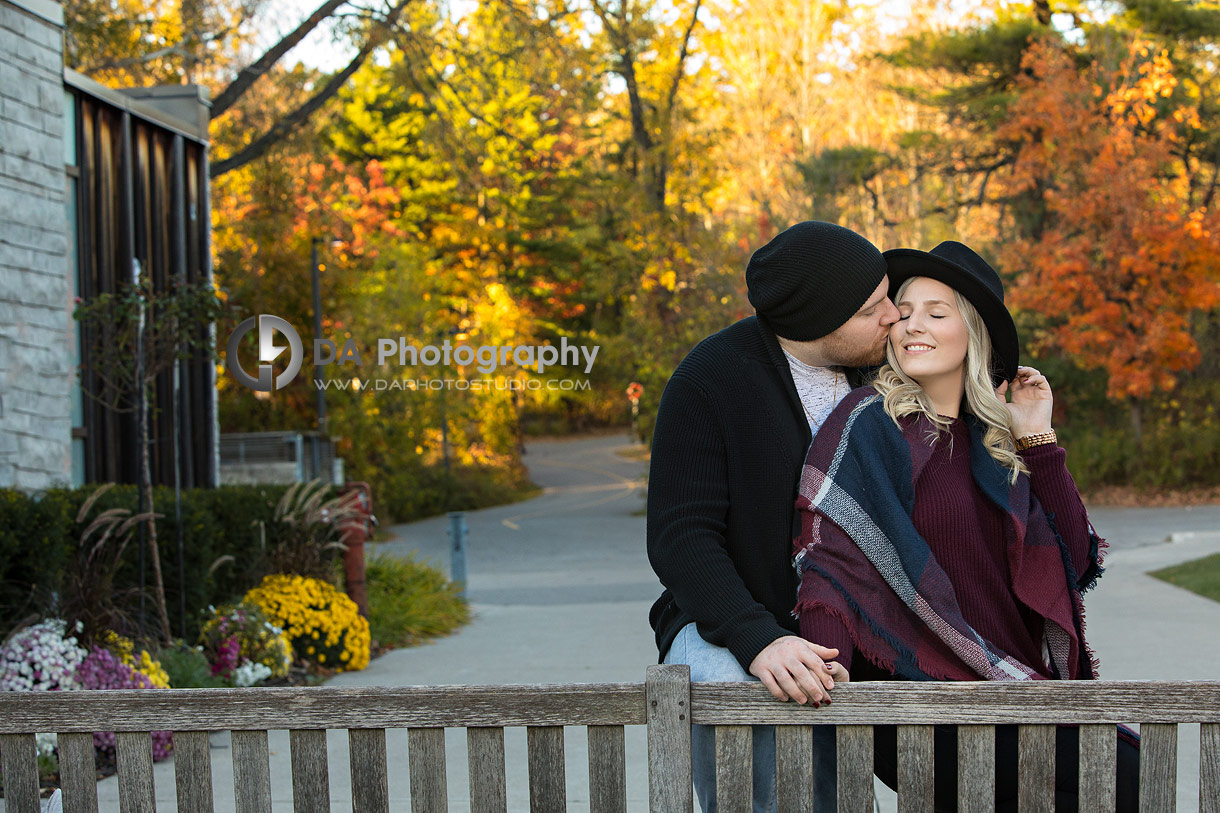 Engagement Photos at Riverwood Conservancy in Mississauga