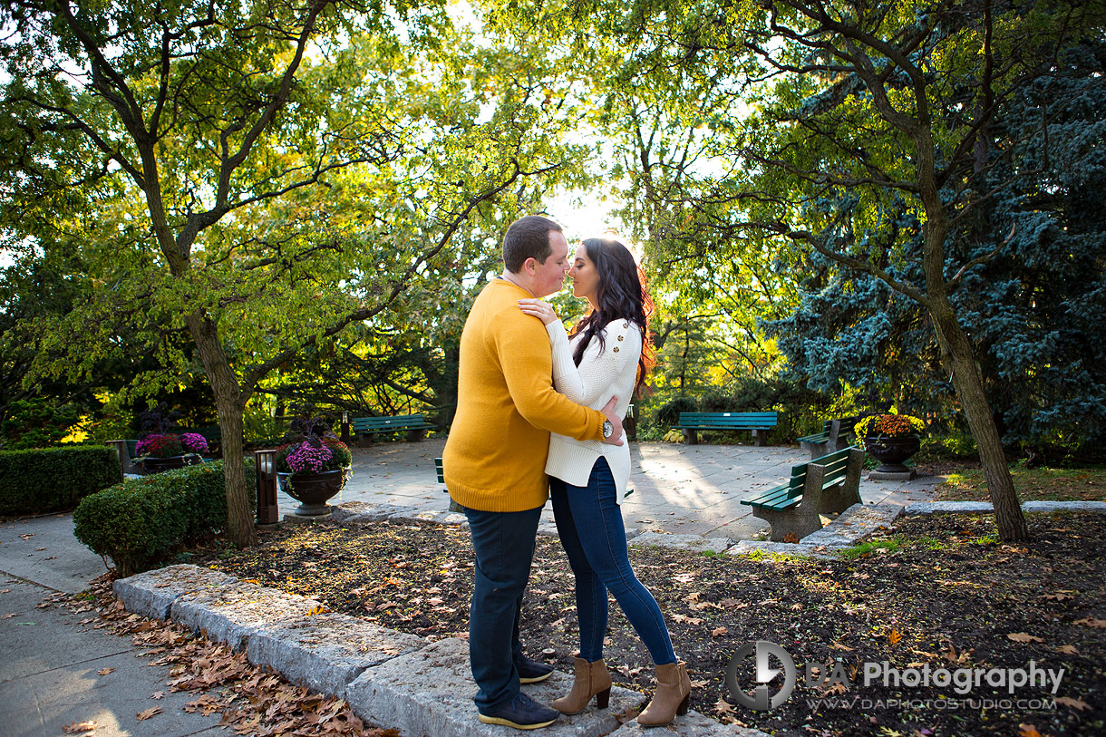 Engagements at High Park in Toronto