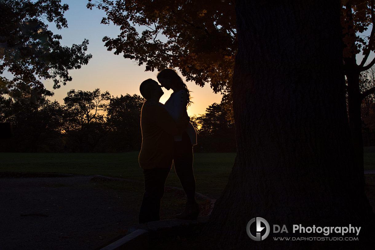 Sunset photos at High Park