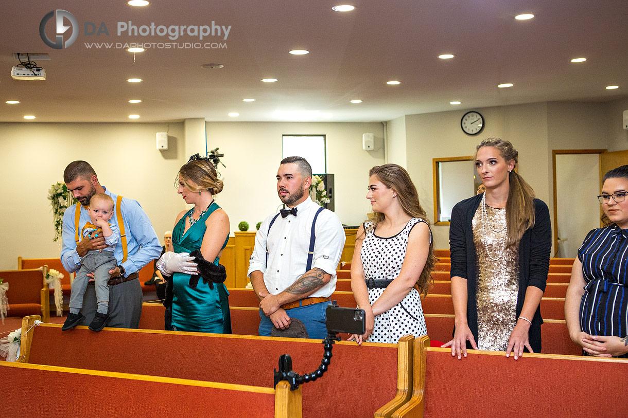 Wedding Ceremony at Doon Chapel