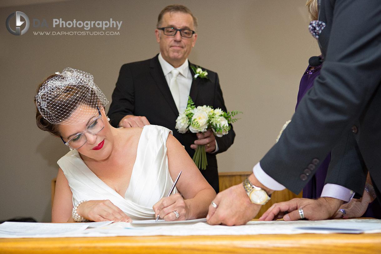 Kitchener Wedding Ceremony