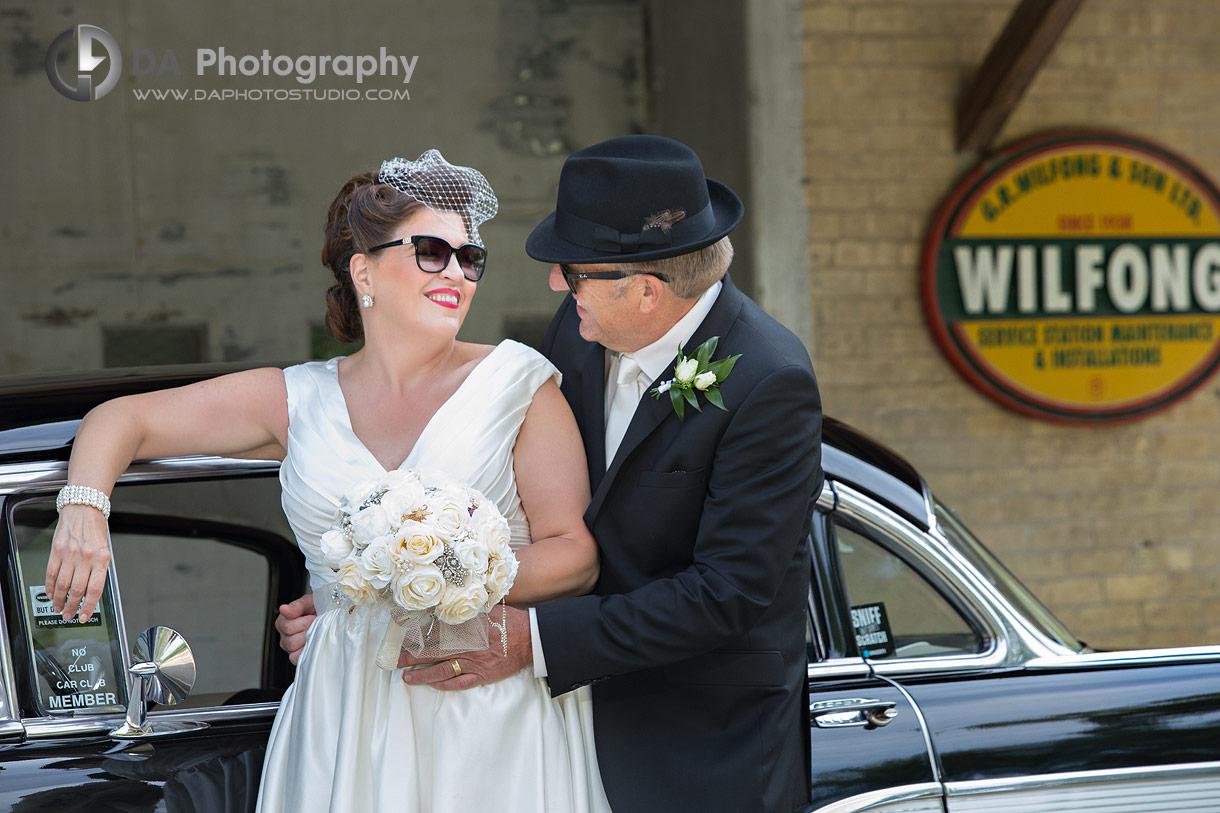 Vintage wedding photos at Wilfong and Son LTD