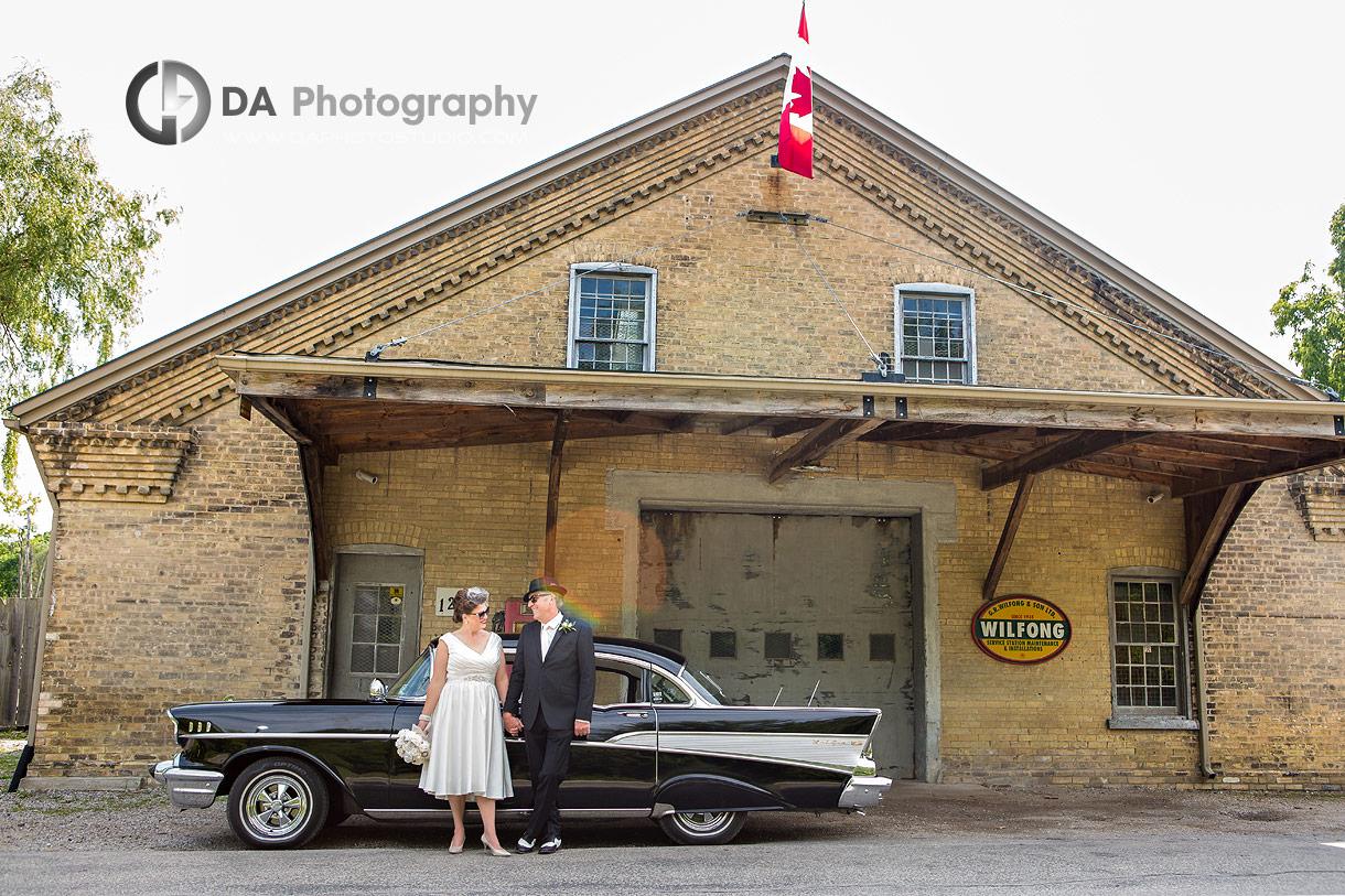 Vintage wedding photo at Wilfong and Son LTD
