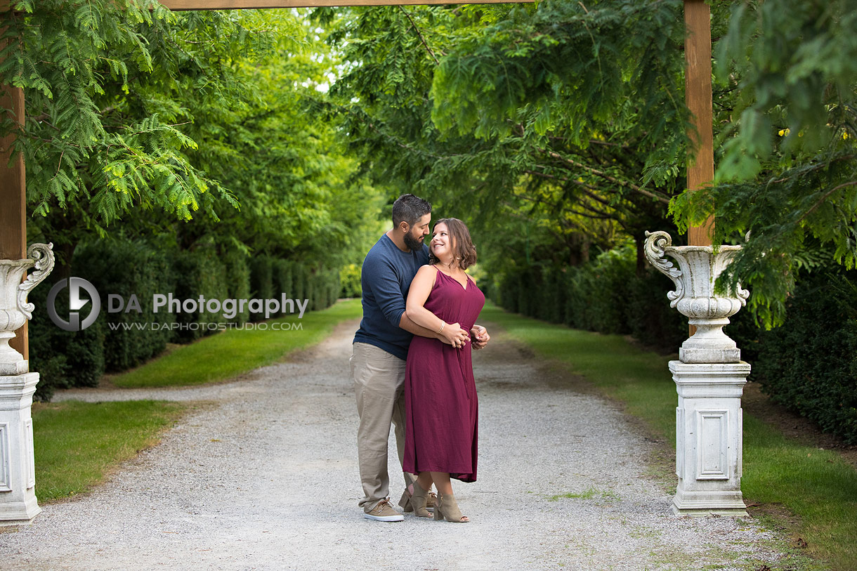Best engagement photographer at Whistling Gardens