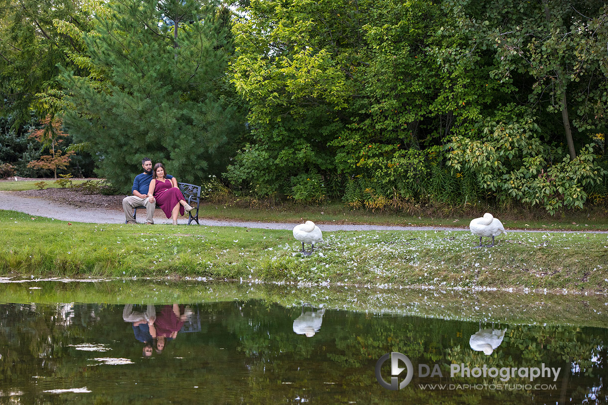 Best engagement photographers at Whistling Gardens
