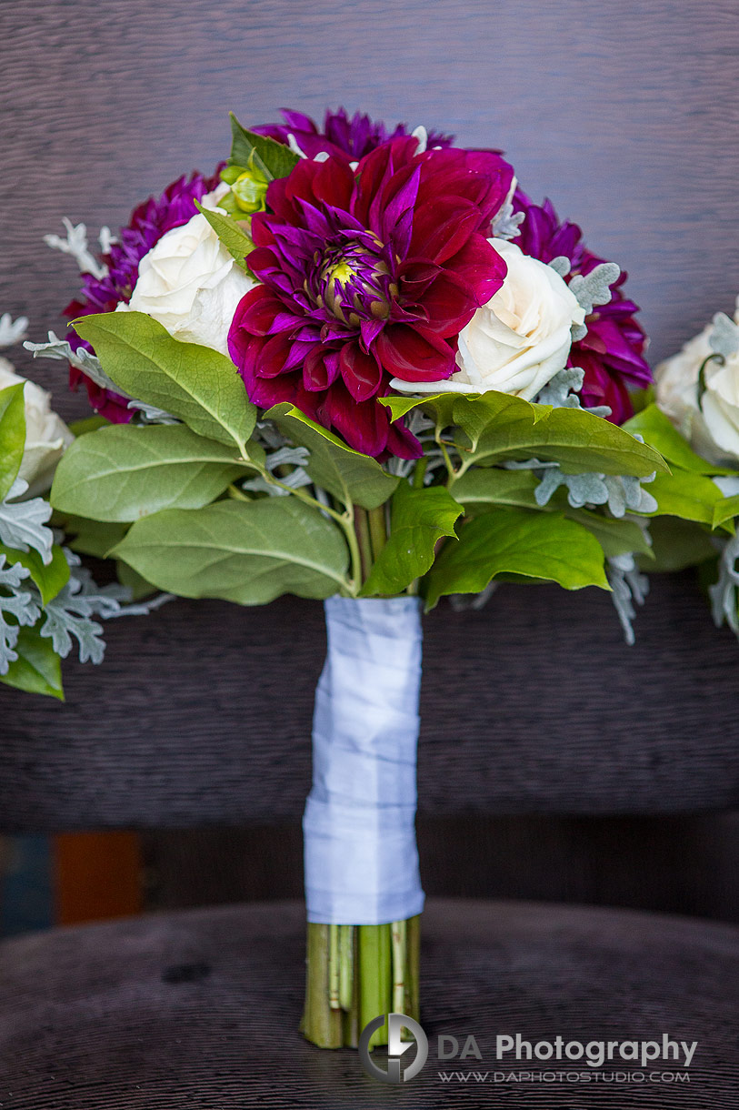 Wedding Flowers at RCYC