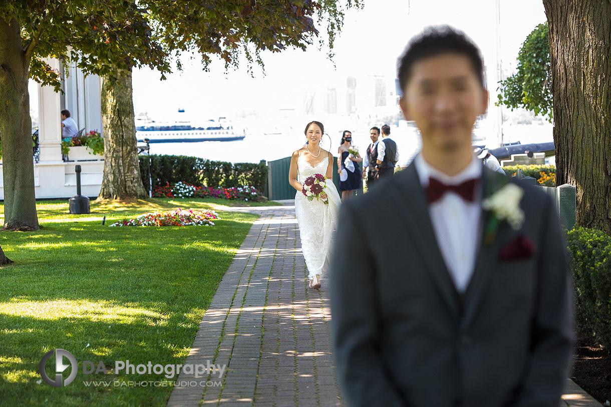 Wedding at Royal Canadian Yacht Club in Toronto
