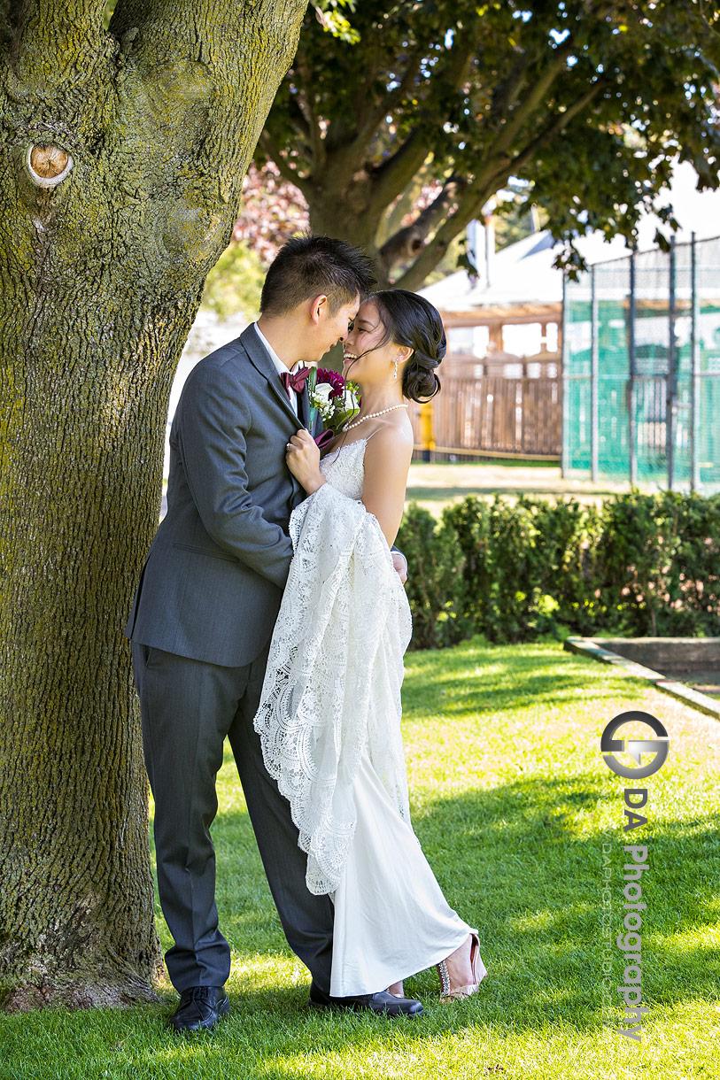 Royal Canadian Yacht Club Wedding Photo