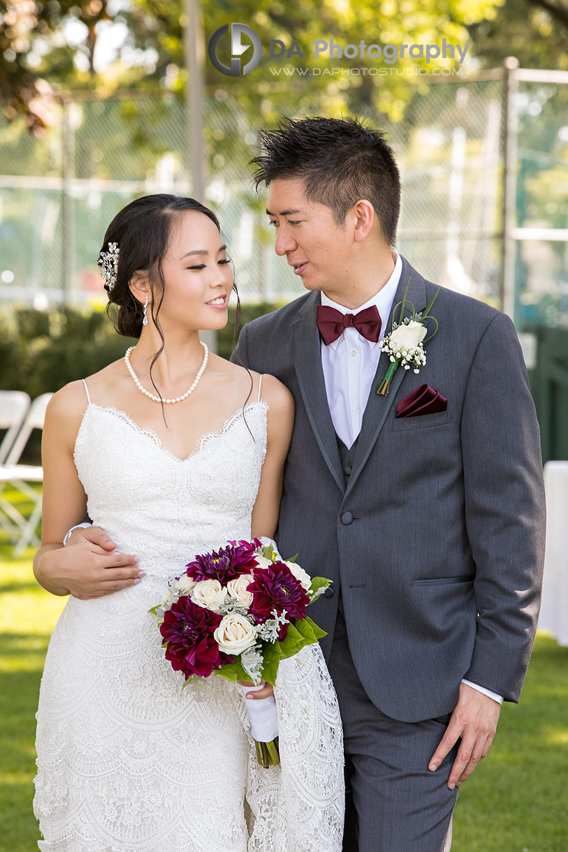 Garden Wedding at Royal Canadian Yacht Club