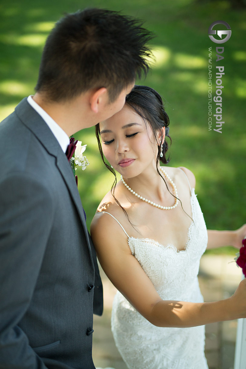 Bride and Groom at Royal Canadian Yacht Club