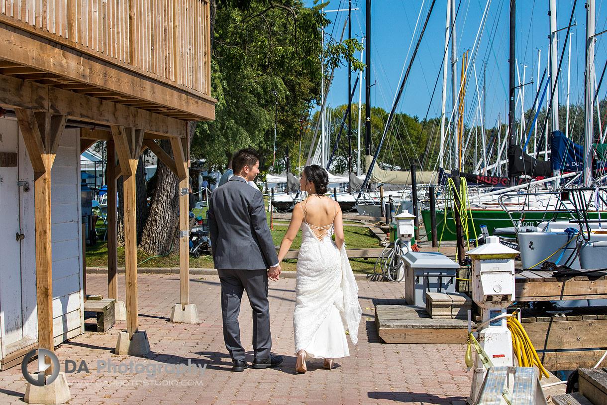 Wedding Photo at Royal Canadian Yacht Club in Toronto