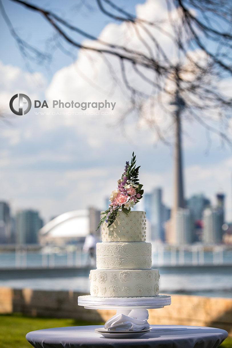 Wedding Cake at Royal Canadian Yacht Club