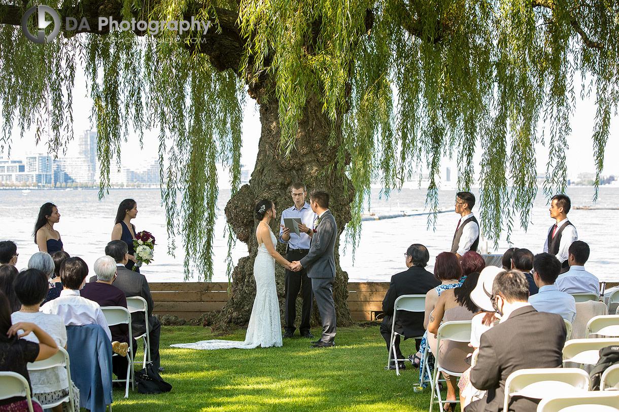 Wedding Ceremonies at Royal Canadian Yacht Club in Toronto