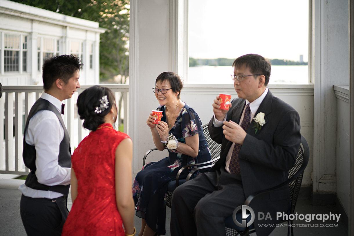 Tea Ceremony at Royal Canadian Yacht Club