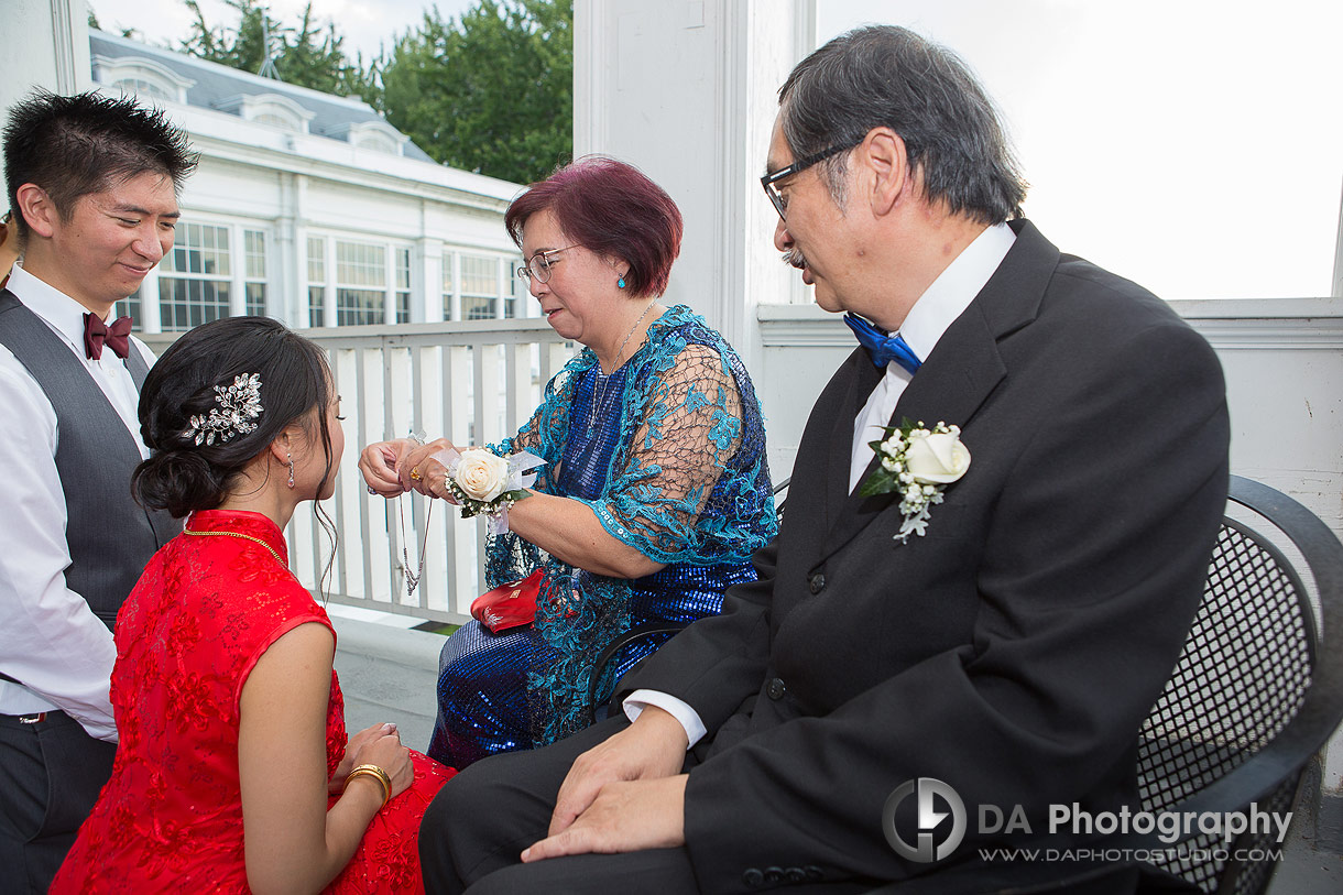Tea Ceremony at Royal Canadian Yacht Club in Toronto