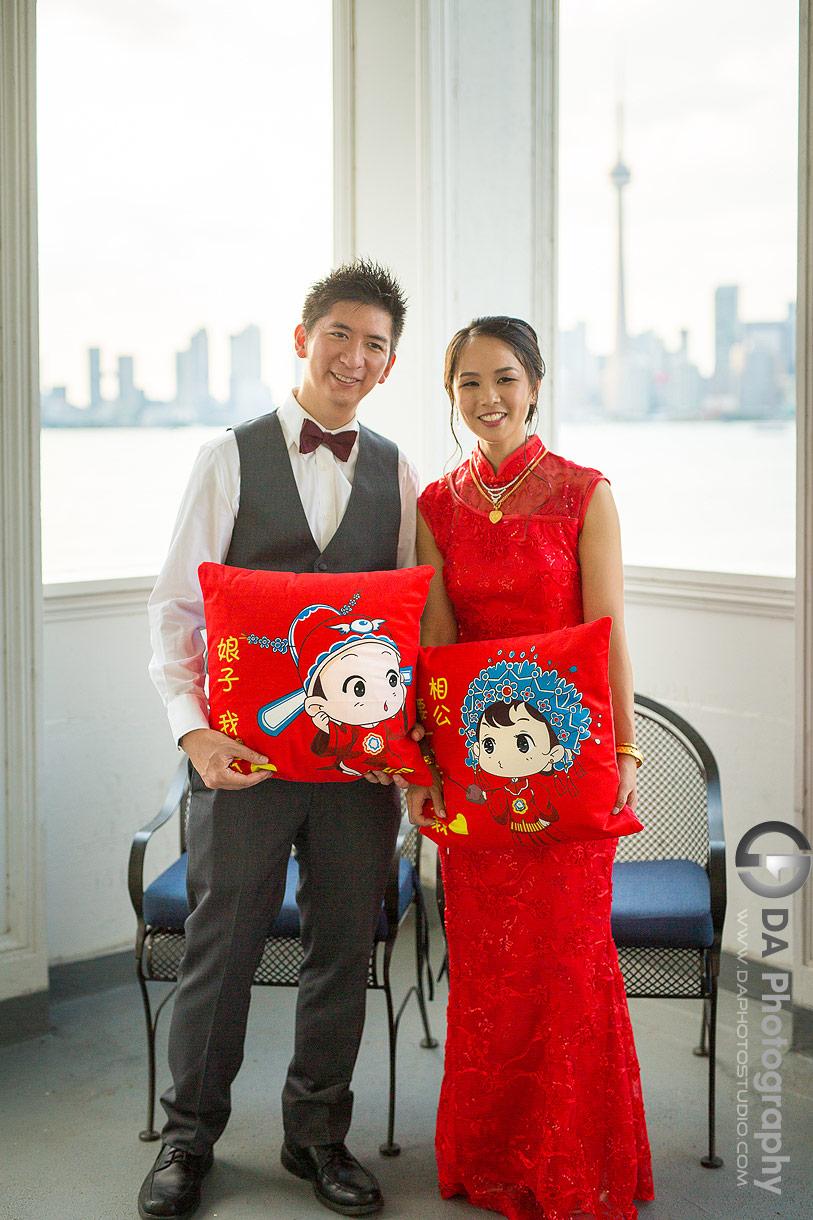 Wedding Tea Ceremony at Royal Canadian Yacht Club