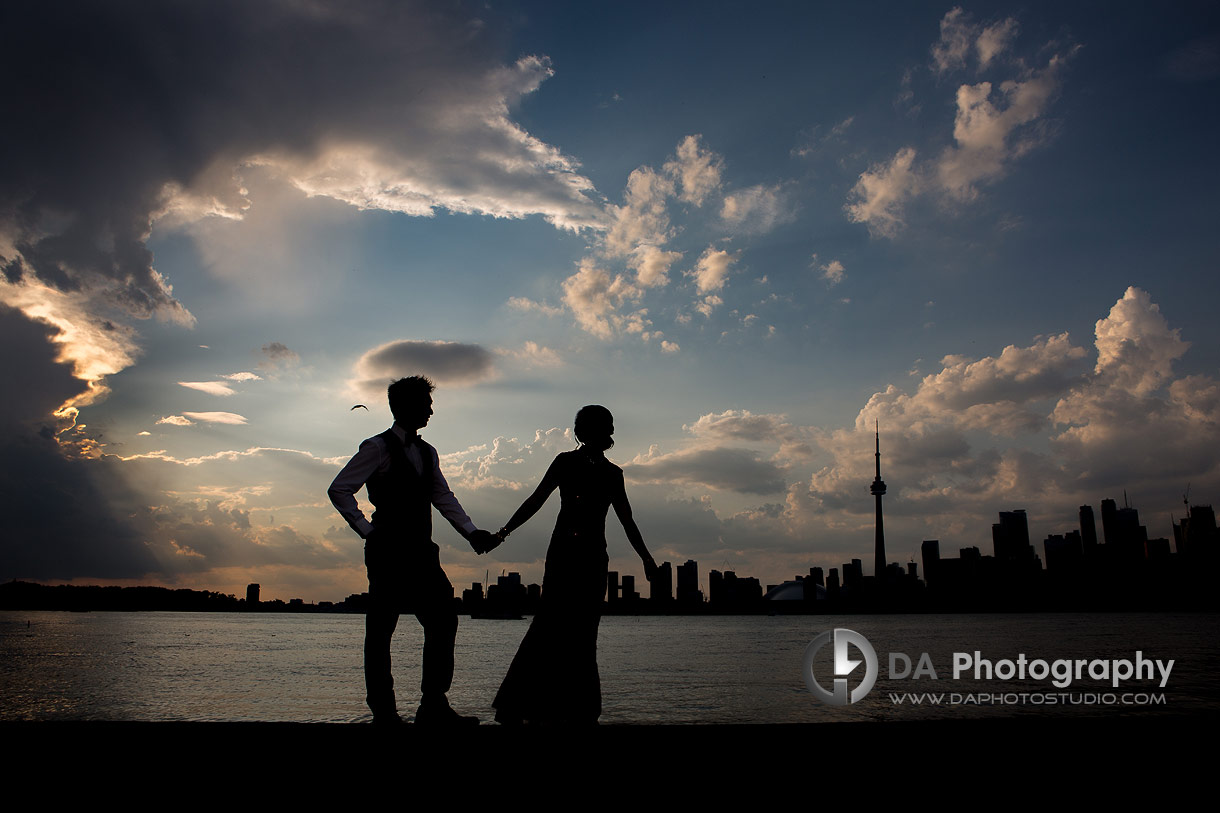 Silhouettes Photographs at Royal Canadian Yacht Club