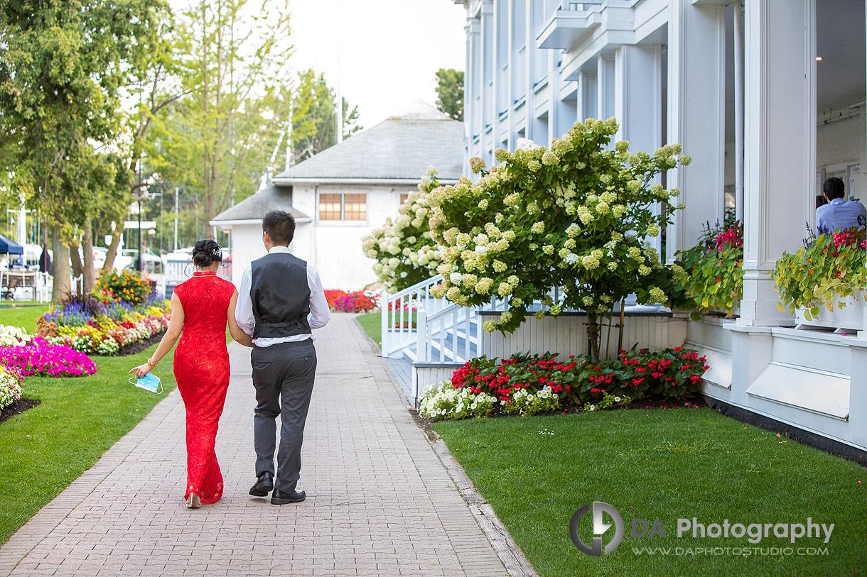 Wedding Reception at Royal Canadian Yacht Club