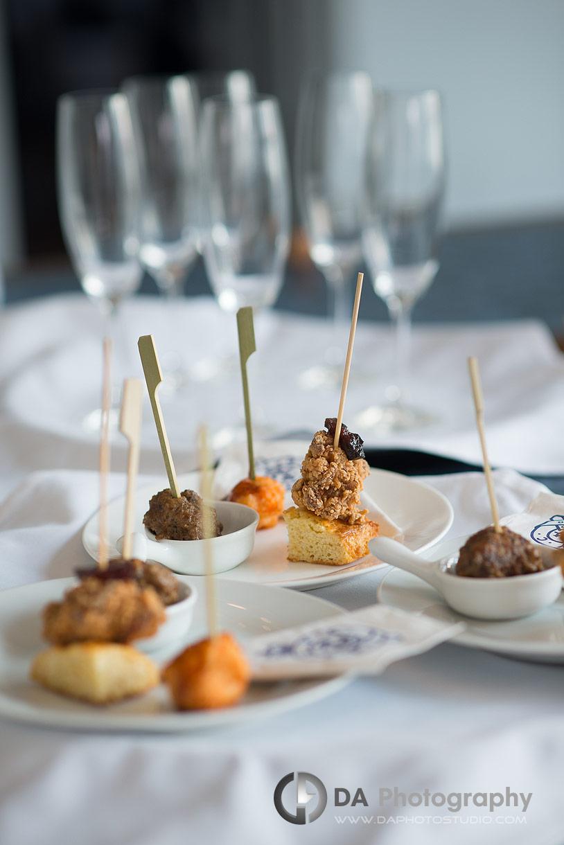 Royal Canadian Yacht Club Wedding Reception