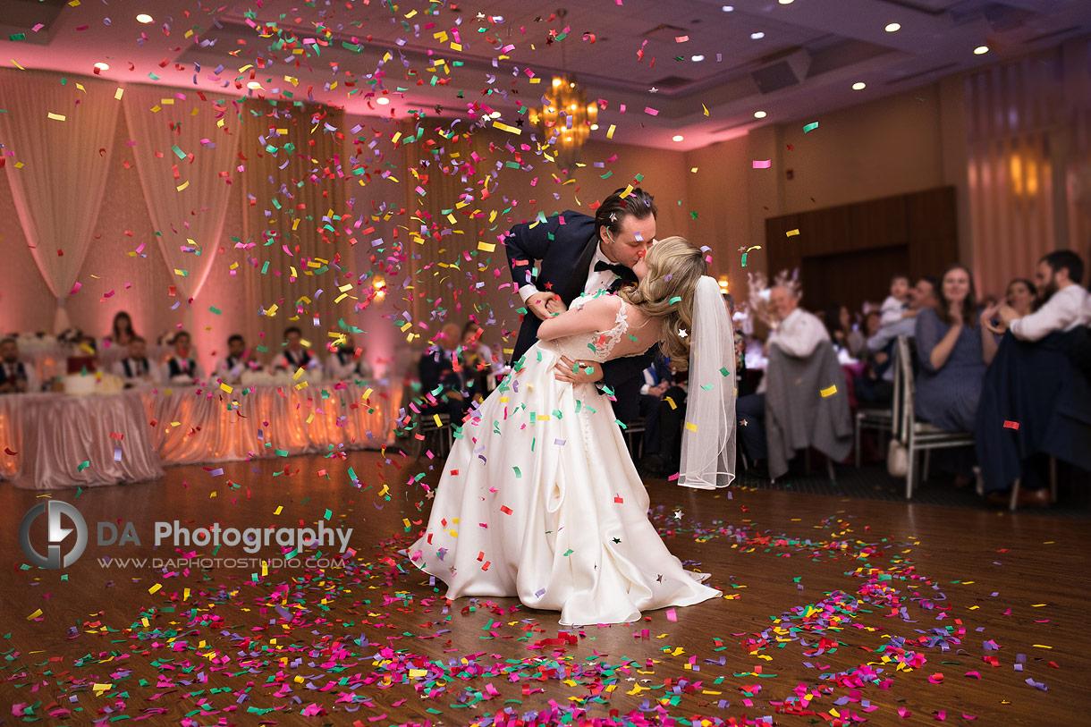 Wedding reception at Millennium Gardens Banquet Centre