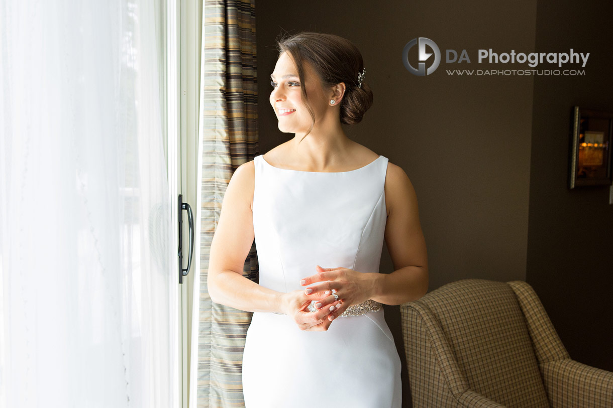 Bride at Hamilton Golf and Country Club