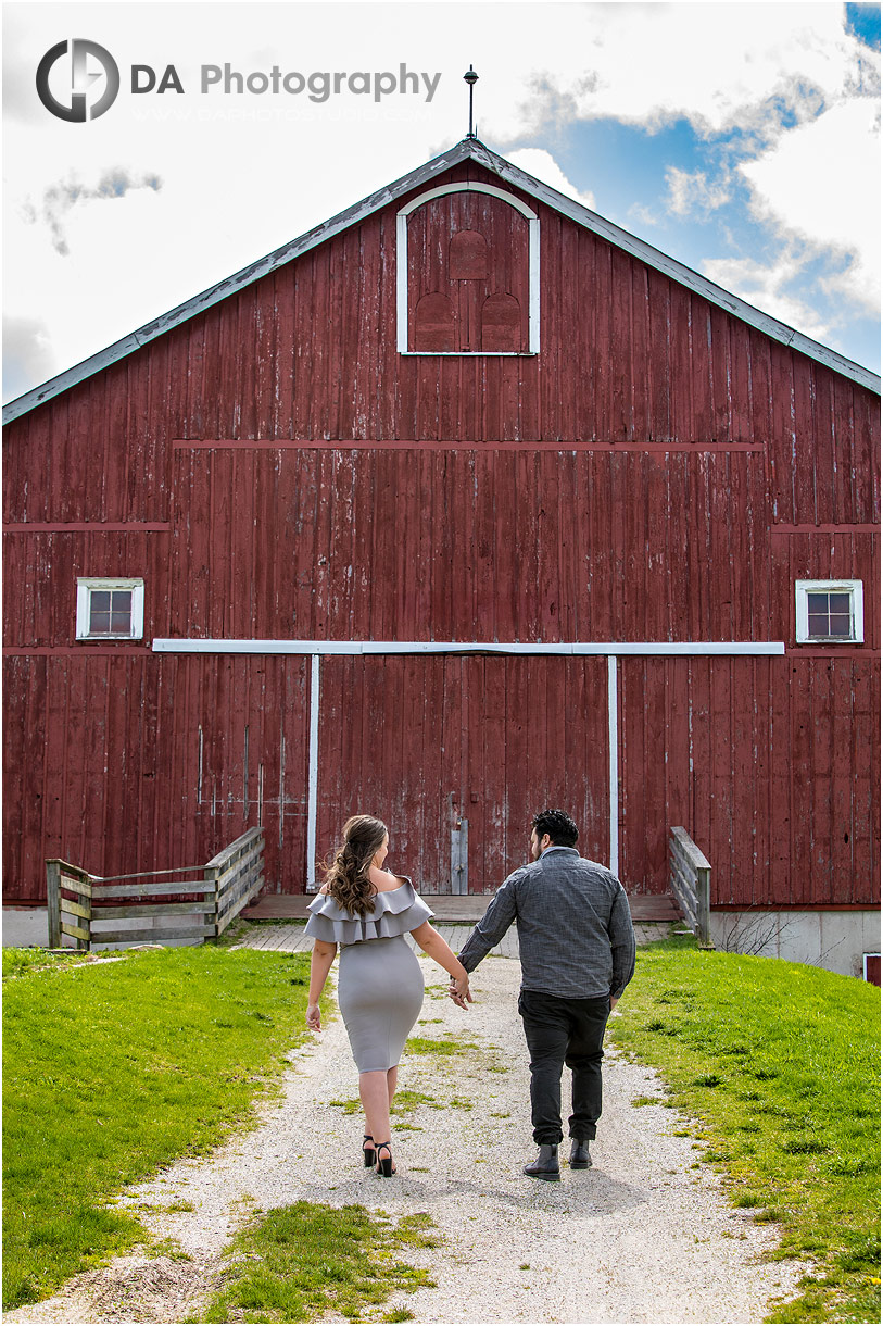 Barn engagement at Country Heritage Park