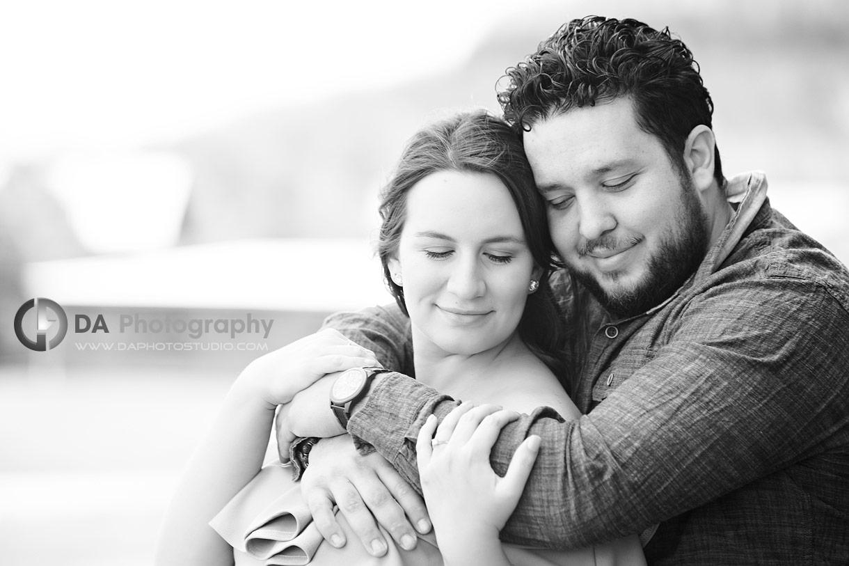 Spring Engagement photos in Milton