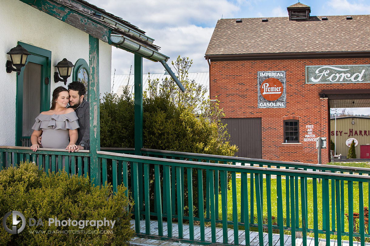 Country Heritage Park engagement photo