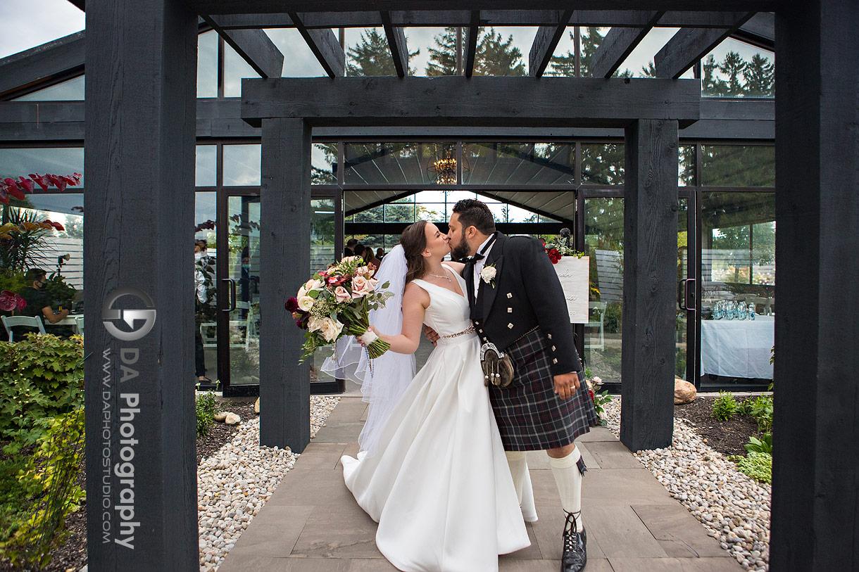 Whistle Bear Wedding ceremony