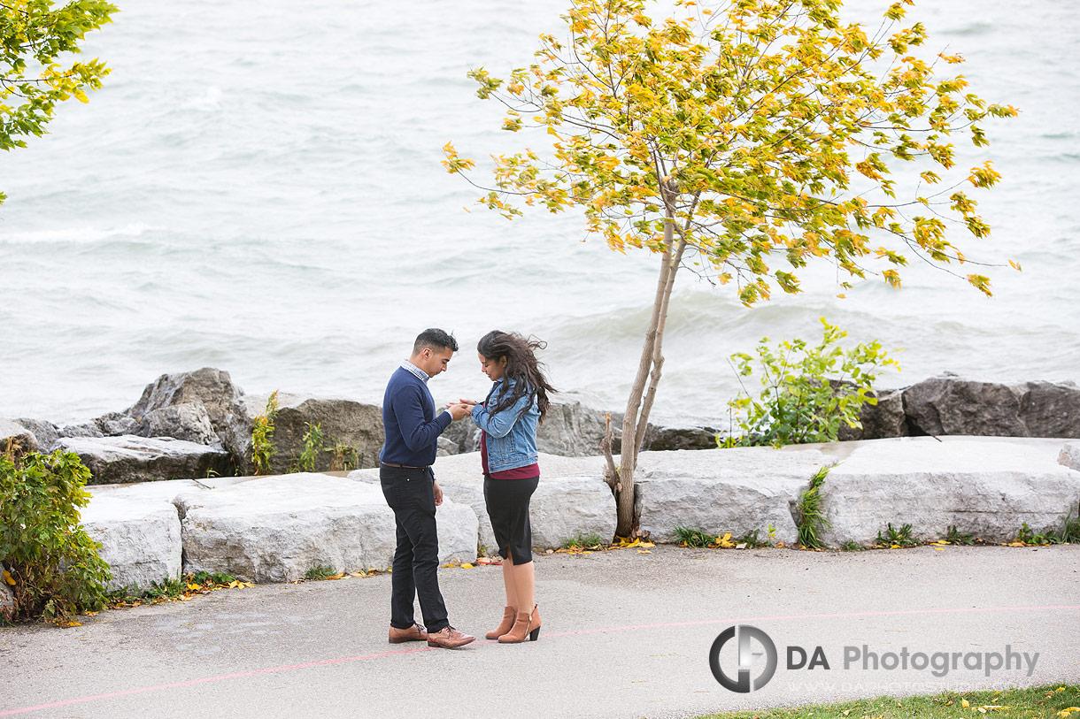 Proposal Photo at Sheldon Lookout in Toronto