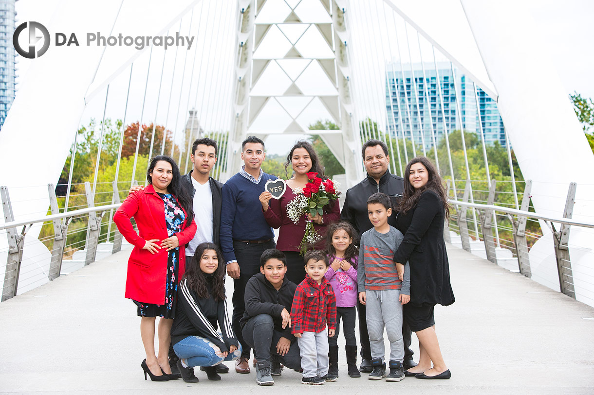 Humber Bay Arch Bridge Family Photos