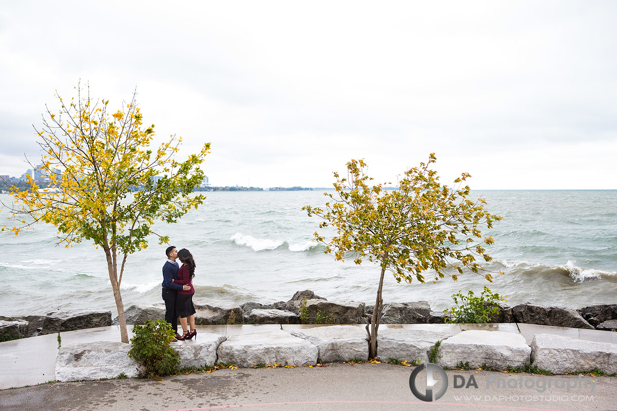Engagement Photos at Sheldon Lookout in Toronto