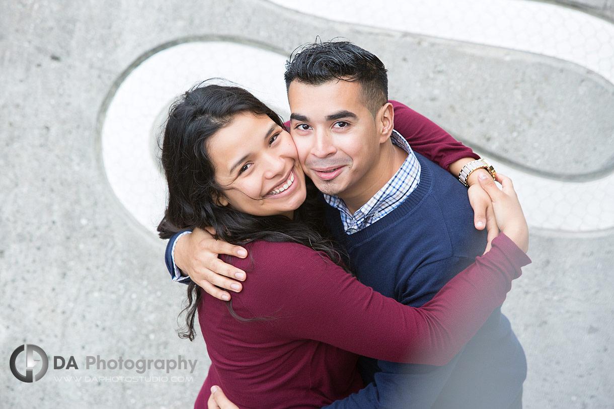 Top engagement photographers at Engagement at Humber Bay Arch Bridge