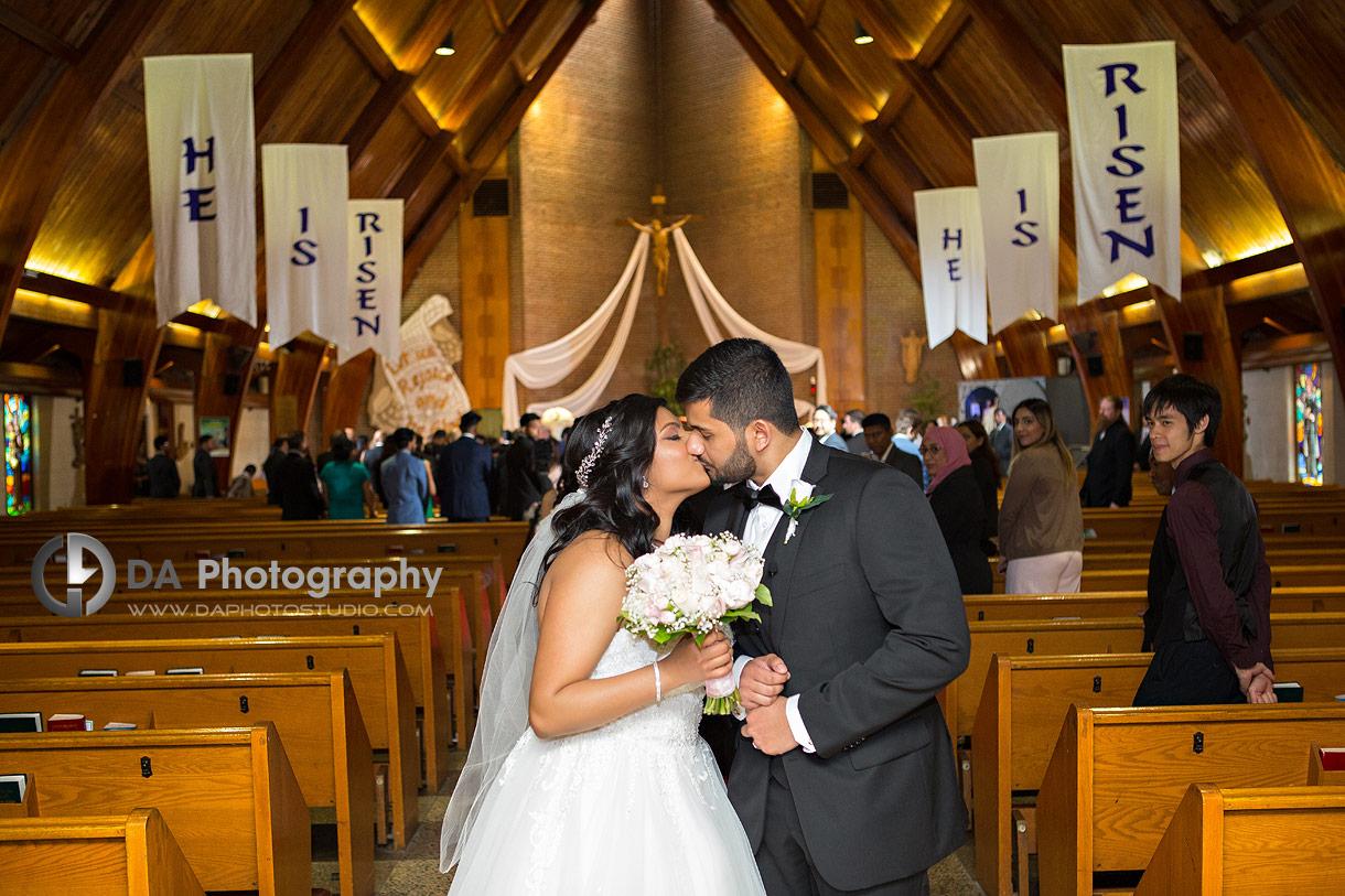 Church Wedding ceremony photographer
